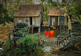ropa de los monjes en kampung cham