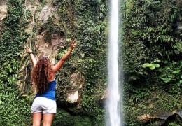 Katibawasan Falls en Camiguin