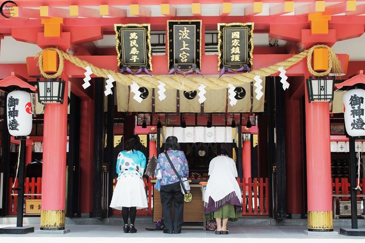 Templo en Okinawa, Japón