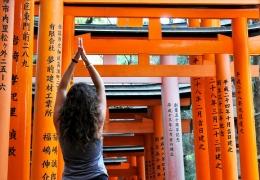 Santuario Fushimi Inari en Kioto (Japón)