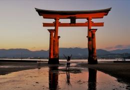 Torii gigante de Miyajima