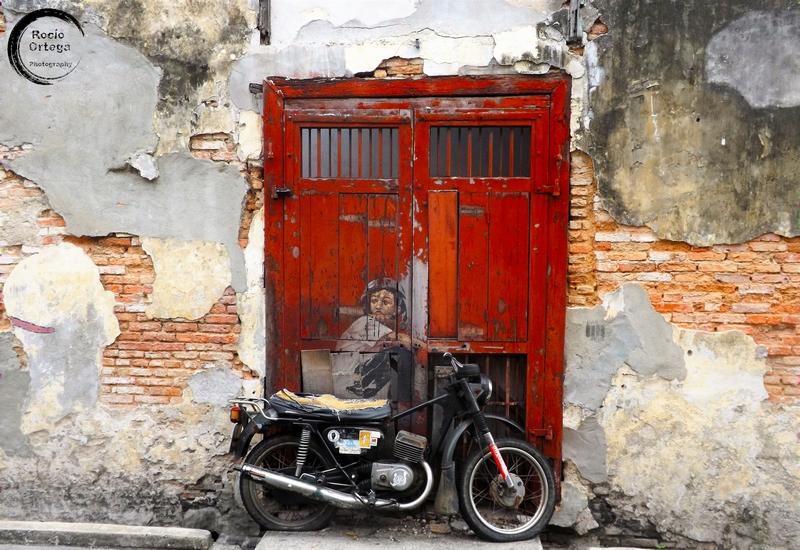 arte callejero en georgetown penang