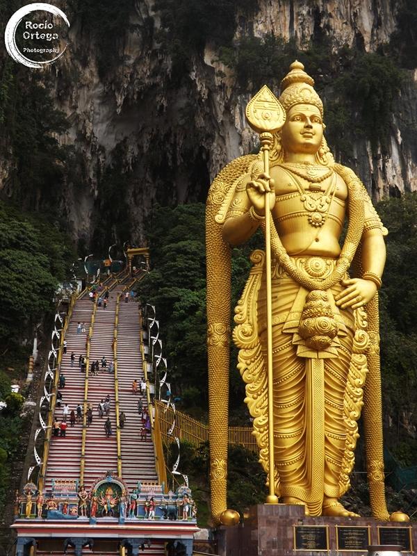 batu caves en kuala lumpur malasia