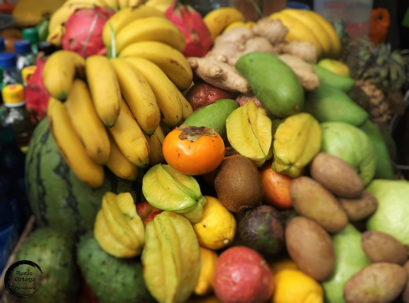 fruta en mercado de kuala lumpur