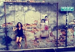 Arte callejero en Georgetown (Penang)