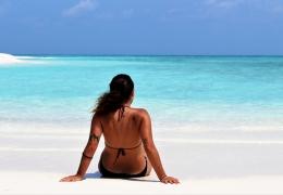 Sandbank cerca de Maafushi