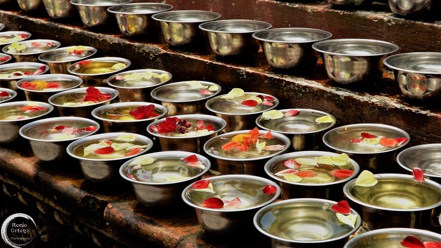 Ofrenda en nepal
