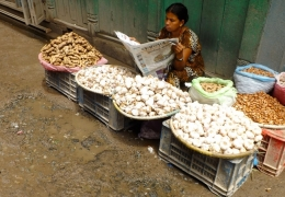 mercado de katmandu