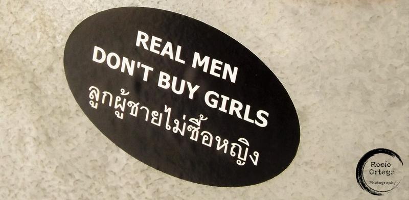 pegatina en chiang mai tailandia