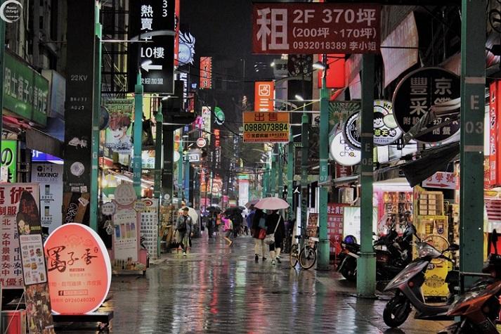 Barrio Ximen en Taipei (Taiwán)