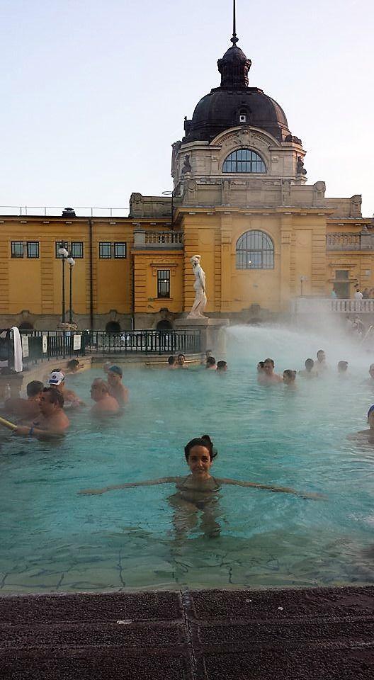 Qué ver y qué hacer en Budapest. BALNEARIO SZÉCHENYI