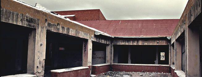 Antiguo colegio de disminuidos psíquicos de Agost (Alicante). Foto Ocio en Alicante