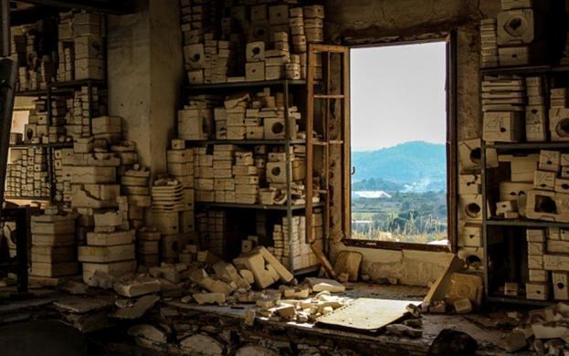 Fábrica de muñecas abandonada (Castellón). Foto de Fran Lens sacada de Las Provincias