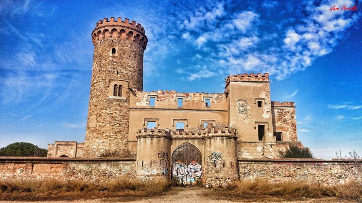 La Torre Salvana (Barcelona). Foto sacada de Ver Pueblos