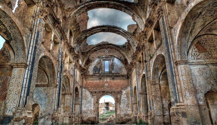 Pueblo viejo de Belchite (Zaragoza). WIKIMEDIA COMMONS