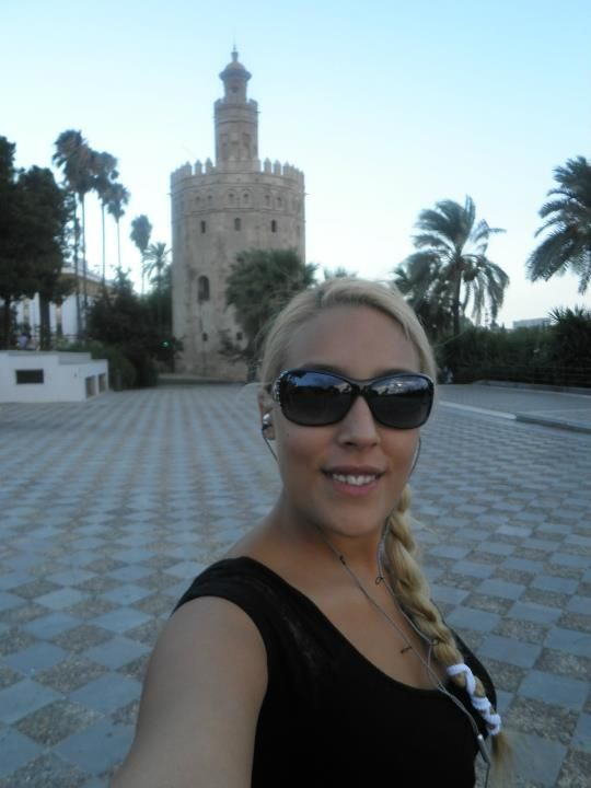 """Viajar sola: Flavia de """"Una rubia con mochila"""" en Sevilla"""