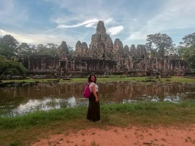 """Viajar sola: Rocío de """"Un plan infinito"""" en Camboya"""