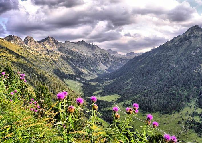 Conoce los lugares más maravillosos de España: Pirineos. Foto de dominio público