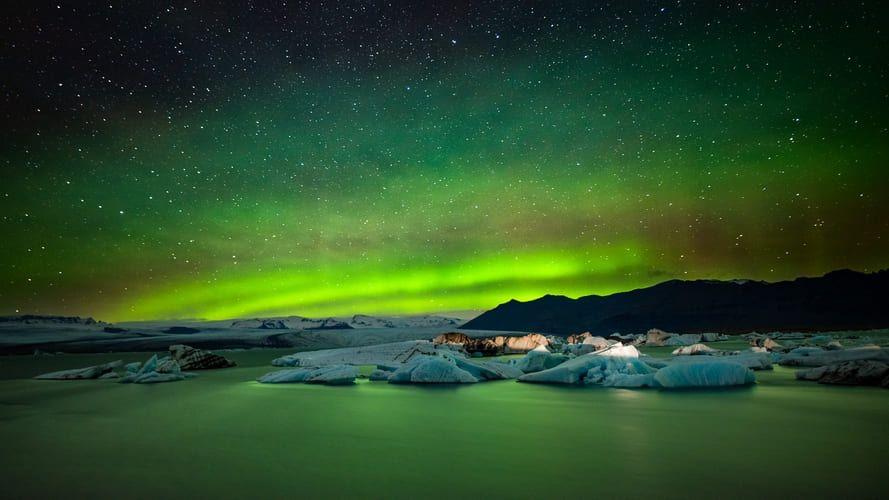 Auroras boreales. Foto Modes Rodríguez