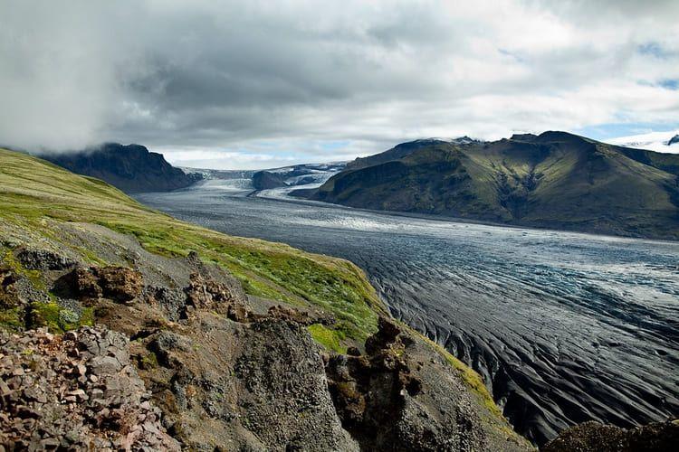 Vatnajökull. Foto Eric Montfort