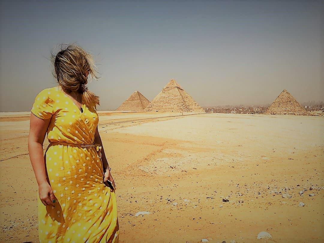 """Viajar sola: Ana de """"La Vie Ailleurs"""" en Egipto"""