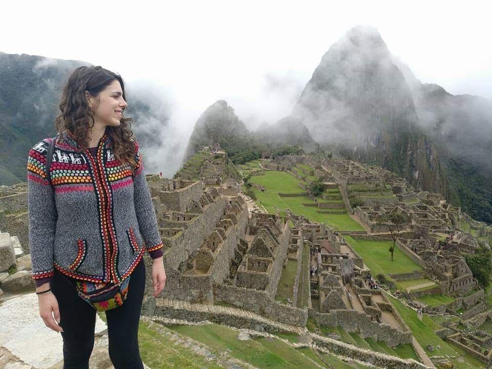"Viajar sola: Ana de ""viajedecaris"" en Machu Pichu"