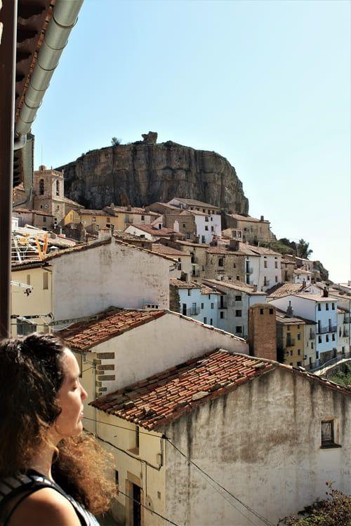 Rincones de Castellón. Vista de Ares desde mi alojamiento