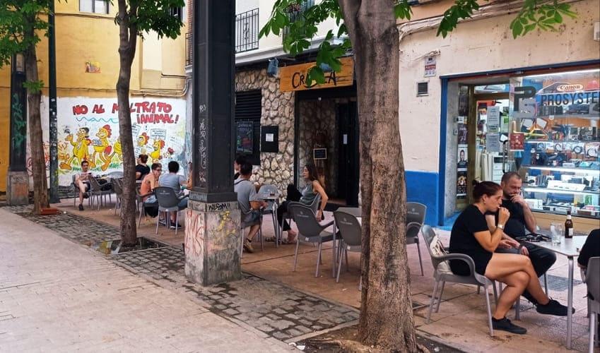 De terrazas por Zaragoza: El Refugio del Crápula